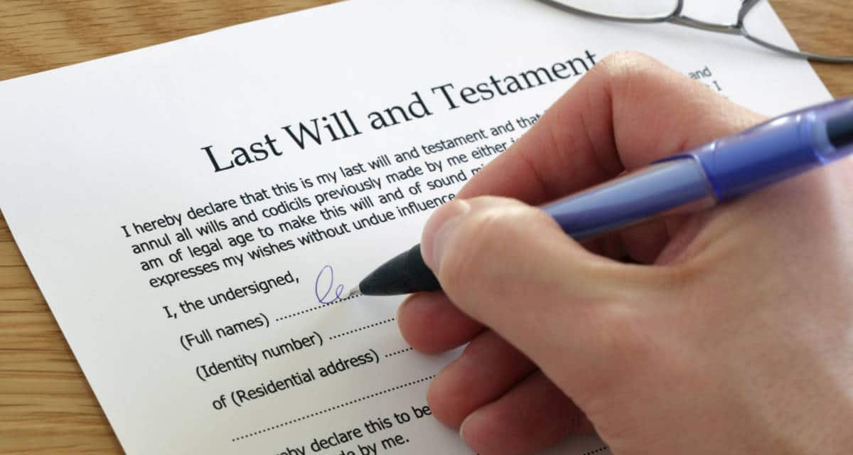 Basic things to know before making a will